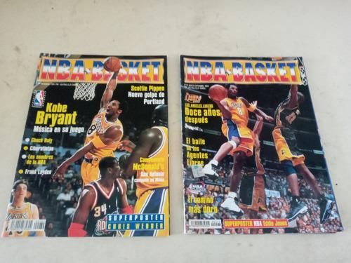 Revistas suplementos de nba basket