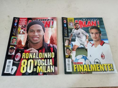 Revistas suplementos fútbol forza milan serie a italia