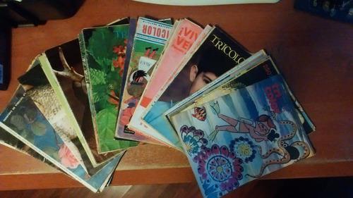 Revistas tricolor años 70