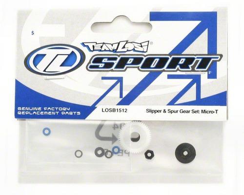 Slipper & spur gear f/ micro-t/b/dt #1512 team losi.