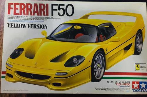 Tamiya ferrari f50 (yellow version)