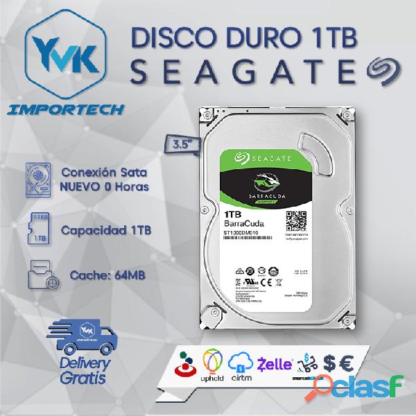 DISCO DURO 1TB SEAGATE BARRACUDA