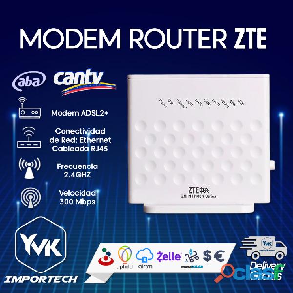Modem router zte