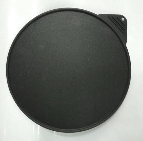 Budare aluminio ø 28cm antiadherente teflon reforzado
