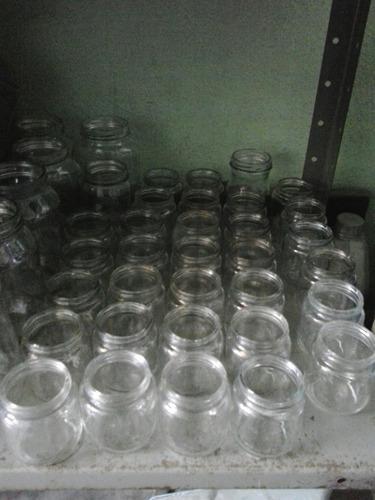Frascos de vidrio tipo mayonesa
