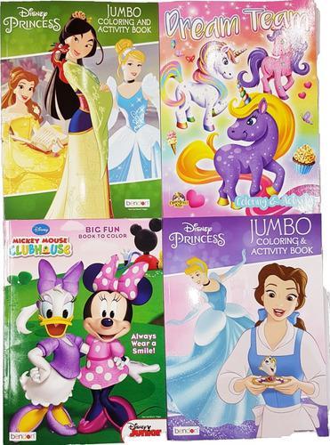 Revistas para colorear princesas mickey paw patrol