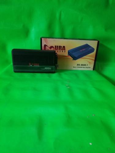 Amplificador nano digital monoblock 1 ch x 600w marca mura s