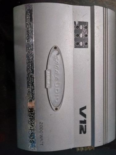 Amplificador para carro saga audio