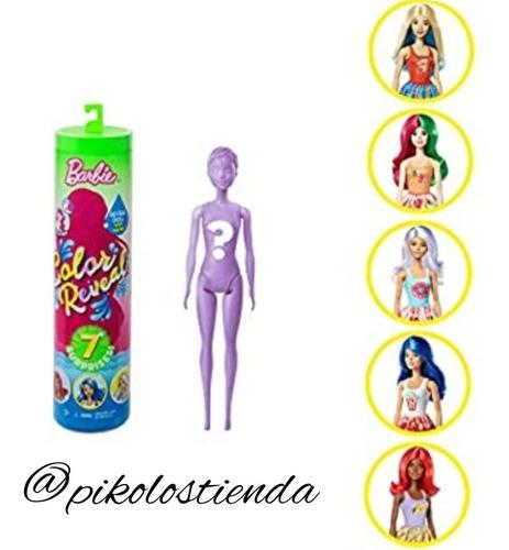 Barbie color reavel