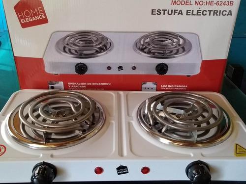 Cocina eléctrica 2 hornillas. garantía envíos a todo el