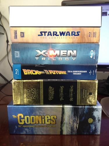 Peliculas blu ray originales box set star wars y mas