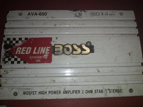Planta amplificadora boss de 650
