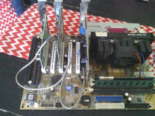 Tarjeta madre gigabyte pentium 3+memoria dimm