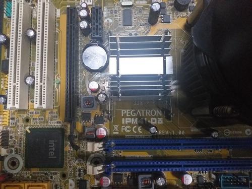 Tarjeta madre pegatron ipm41-d3 con procesador reparar o rep