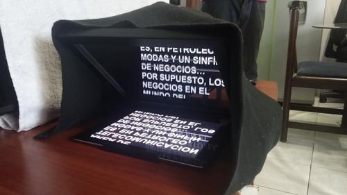 Teleprompter para ipad o tablet