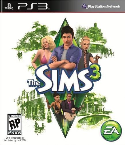 The sims 3 ps3 digital + 4 juegos a tu elección