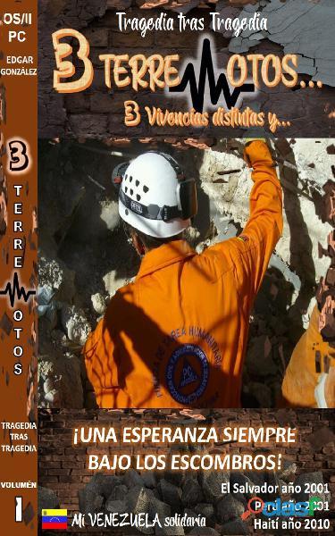 3 TERREMOTOS libro electronico (Ebook)