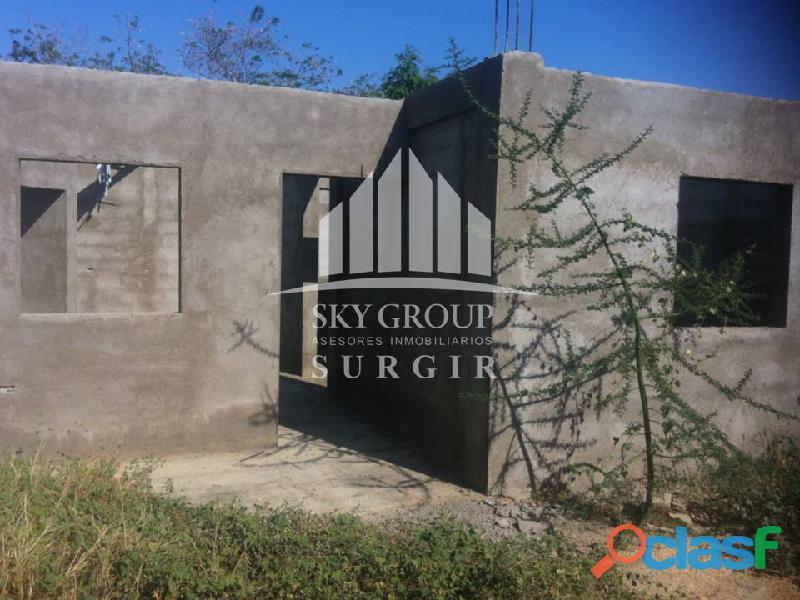 Casa en obra gris en guanadito sur SGC 012