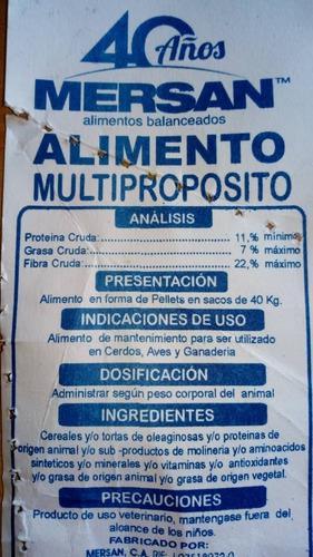 Alimento multiproposito 12 dol