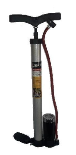 Bomba de bicicletas con medidor de presión de aire