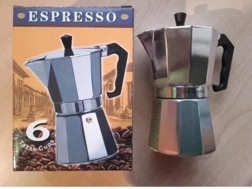 Cafetera greca primula express de aluminio 6 tazas
