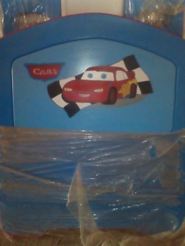 Cama cuna para niños cars