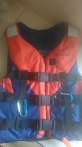 Chaleco salva vidas aquatek para deportes acuaticos