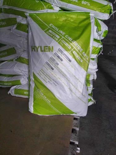 Cloruro de colina 60% hylen (aollen) grado animal