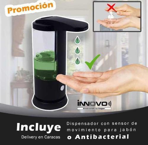 Dispensador automático de jabón líquido, lavaplatos y mas