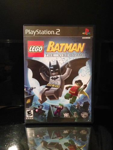 Juego de playstation 2 lego batman the videogame