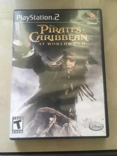 Juego ps2 original. piratas del caribe. ref 15