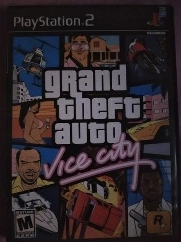 Juego ps2 vice city