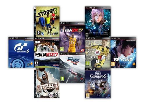 Juegos digitales para ps3 combo 6 juegos 5vds tienda física