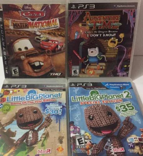 Juegos infantiles ps3 cars adventure time playstation 3