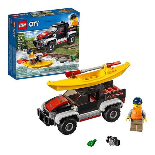 Lego city great vehicles kayak adventure 60240