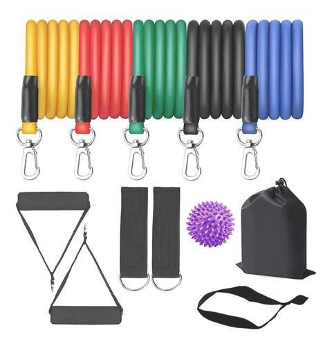 Ligas bandas de resistencia set completo gym fitness