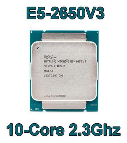 Procesador intel xeon e5-2650 v3 2.3ghz 10 core 25mb 2011-3