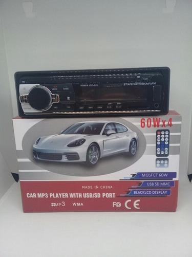 Reproductor para carro mp3 usb sd wma wav radio fm tienda