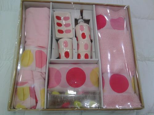 Set de baño 10 piezas
