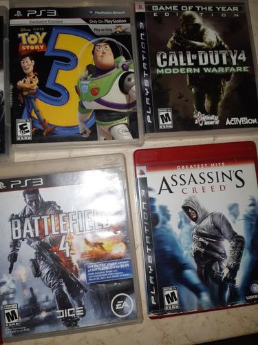 Vendo mis juegos de playstation 3