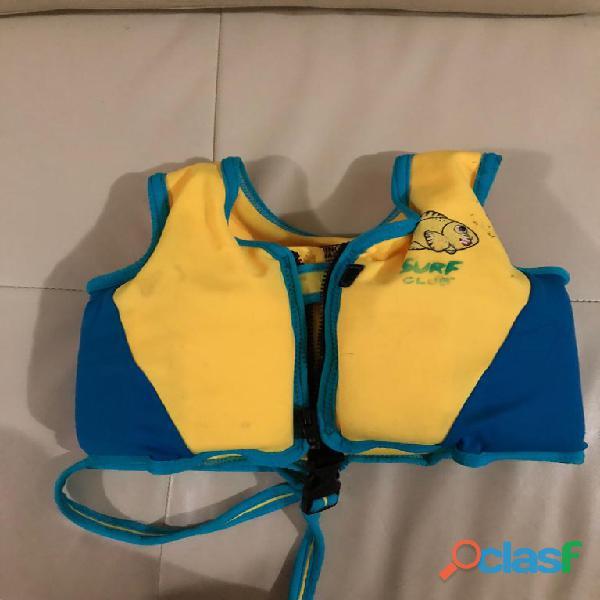 Chaleco de natación para niños surf club