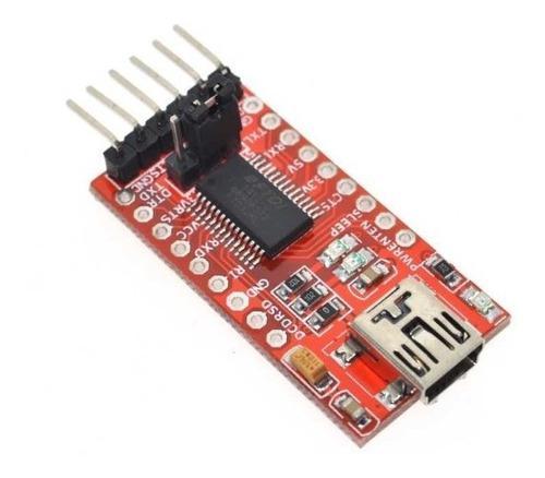 Adaptador serie ft232rl ftdi mini puerto usb to ttl 3.3v 5v
