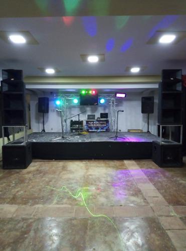 Alquiler de sonido e iluminación profesional para fiestas