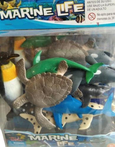 Animales marinos juguete niños diversion juego figuras