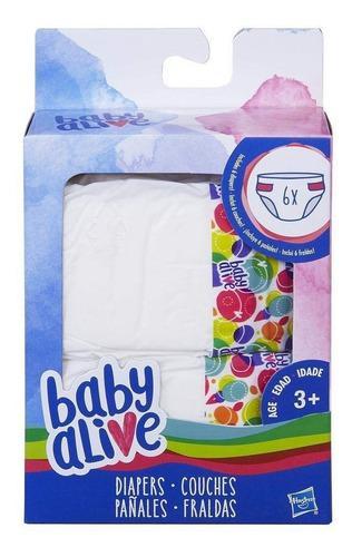 Baby alive muñecas 6pk juguetes hasbro original