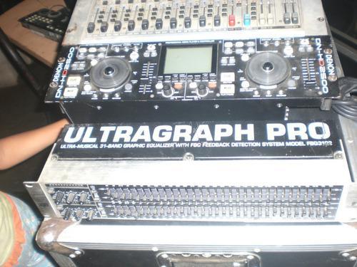 Behringer fbq3102 equalizador grafico 31 bandas profesional