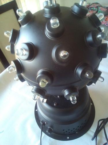 Bola de luces led giratoria (rítmica)
