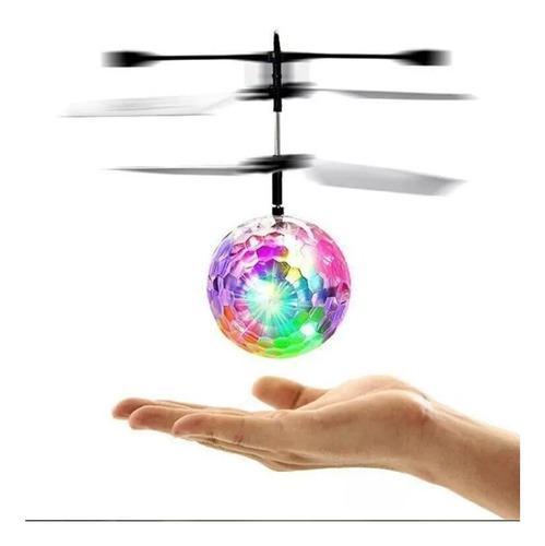Bola de luces voladora drone juguete para niños o niñas