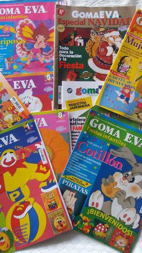 Coleccion De Revistas Goma Eva
