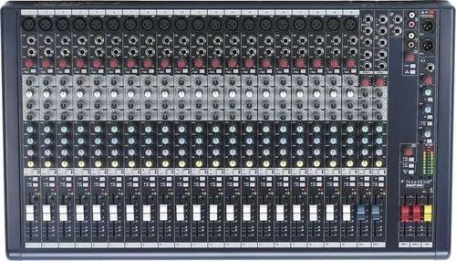 Consola soundcraft mpmi 20 canales y 6 entradas profesional